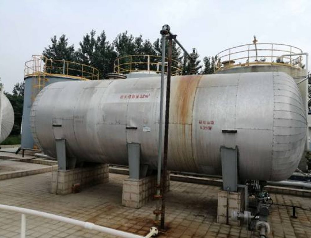 The Non-Intrusive Ultrasonic Level Gauge/Non-Intrusive Ultrasonic Level switch was installed successfully in the nitric acid storage tank